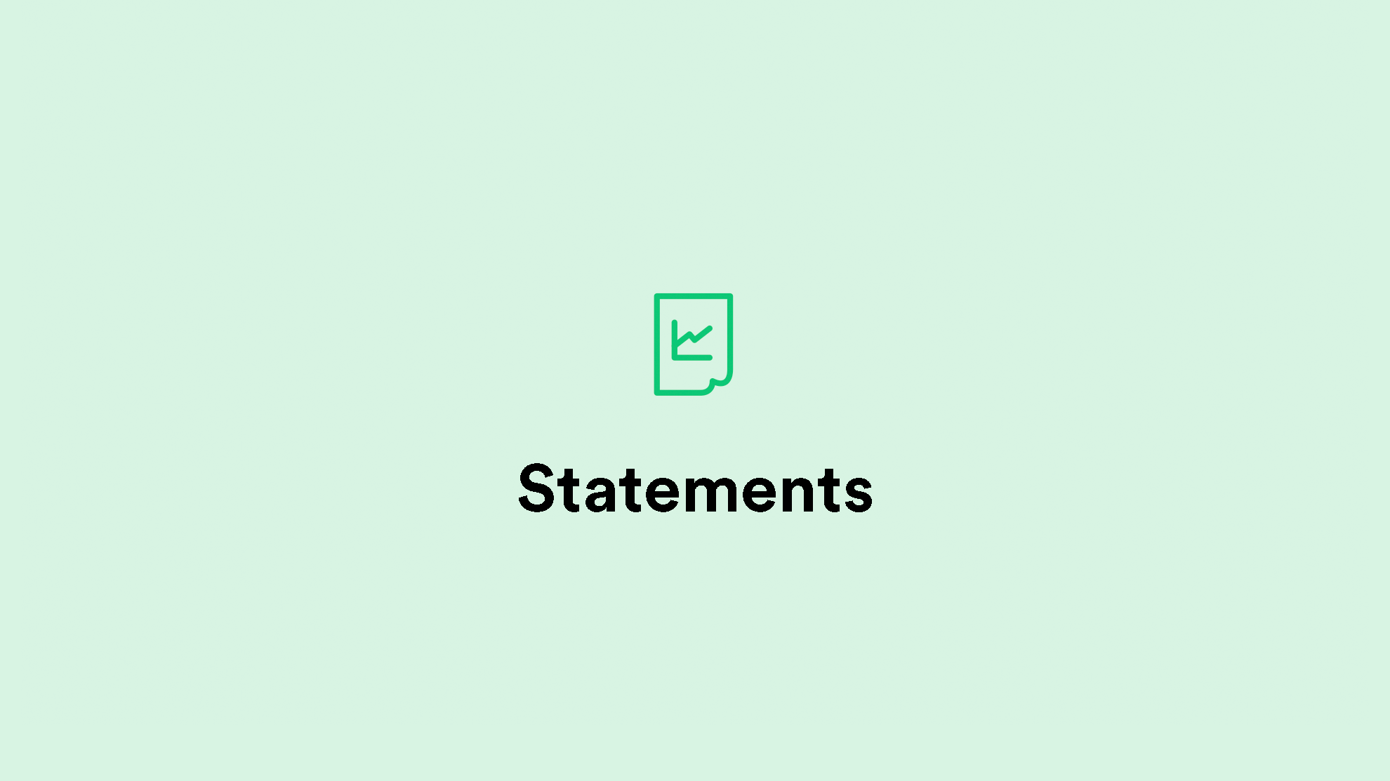 Statements preview image